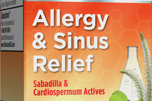 ALLERGY & SINUS RELIEF DISSOLVABLE TABLETS