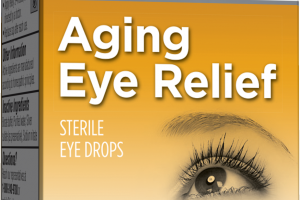 HOMEOPATHIC AGING EYE RELIEF STERILE EYE DROPS