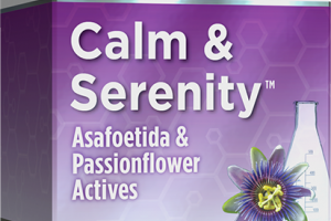 CALM & SERENITY ASAFOETIDA & PASSIONFLOWER ACTIVES HOMEOPATHIC DISSOLVABLE TABLETS