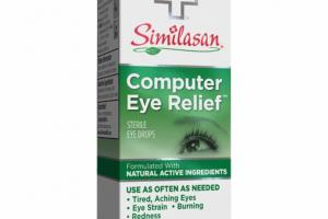 COMPUTER EYE RELIEF HOMEOPATHIC STERILE EYE DROPS