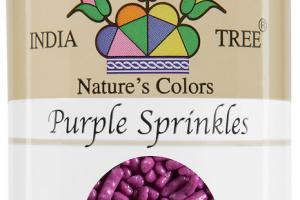 PURPLE SPRINKLES