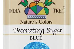 NATURE'S COLORS BLUE DECORATING SUGAR