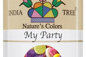 NATURE'S COLORS MY PARTY DECORATIFS