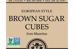 EUROPEAN STYLE BROWN SUGAR CUBES