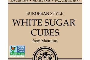 EUROPEAN STYLE WHITE SUGAR CUBES