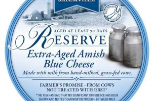 EXTRA-AGED AMISH BLUE CHEESE