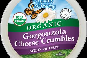 ORGANIC GORGONZOLA CHEESE CRUMBLES