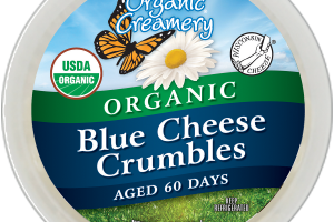 ORGANIC BLUE CHEESE CRUMBLES