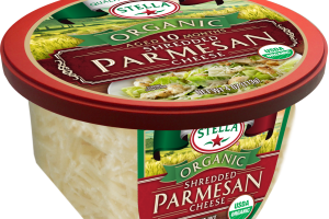 ORGANIC SHREDDED PARMESAN CHEESE