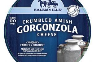 CRUMBLED AMISH GORGONZOLA CHEESE