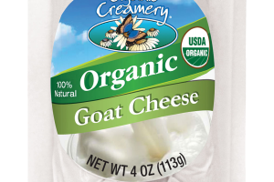 ORGANIC GOAT CHEESE