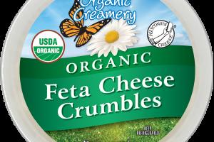 ORGANIC FETA CHEESE CRUMBLES