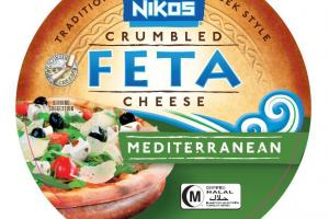 CRUMBLED MEDITERRANEAN FETA CHEESE