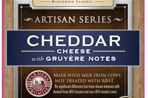 CHEDDAR CHEESE WITH GRUYERE NOTES