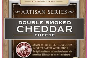 DOUBLE SMOKED CHEDDAR CHEESE