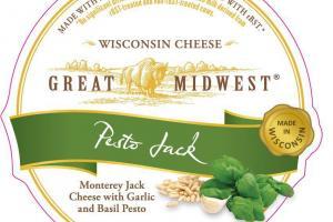 PESTO MONTEREY JACK WITH GARLIC AND BASIL PESTO WISCONSIN CHEESE