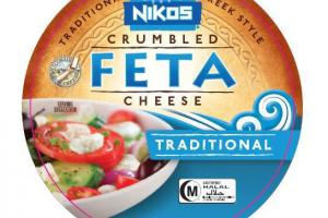 TRADITIONAL GREEK STYLE CRUMBLED FETA CHEESE