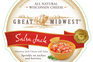 SALSA MONTEREY JACK WITH SALSA WISCONSIN CHEESE
