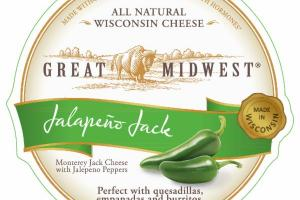 JALAPENO JACK MONTEREY JACK CHEESE WITH JALAPENO PEPPERS