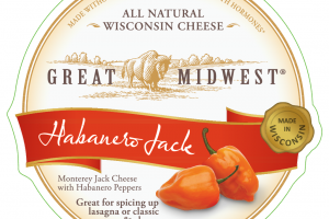 HABANERO MONTEREY JACK CHEESE WITH HABANERO PEPPERS WISCONSIN CHEESE