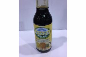 TRADITIONAL ALL NATURAL SOY DRESSING & MARINADE WITH NATURAL CITRUS JUICES