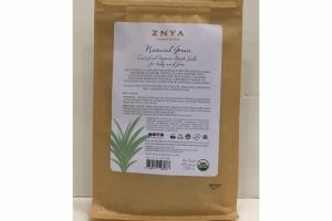 NATURAL GREEN CERTIFIED ORGANIC BATH SALT FOR BODY AND FOOT