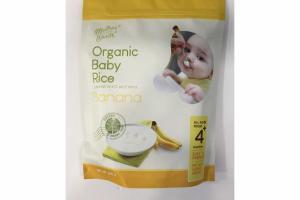 BANANA ORGANIC BABY RICE