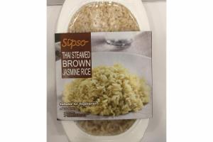 THAI STEAMED BROWN JASMINE RICE