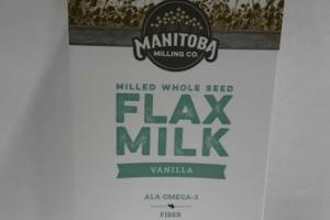 VANILLA MILLED WHOLE SEED FLAX MILK
