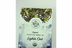 LIGHTS OUT ORGANIC WHOLE LEAF HERBAL TEA