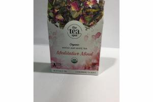MEDITATIVE MIND ORGANIC WHOLE LEAF WITH TEA