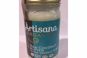 RAW COCONUT BUTTER WHOLE COCONUT PUREE