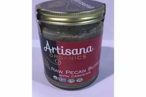 RAW PECAN BUTTER WITH CASHEWS