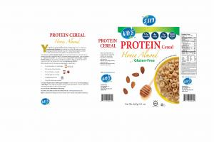 GLUTEN-FREE HONEY ALMOND PROTEIN CEREAL