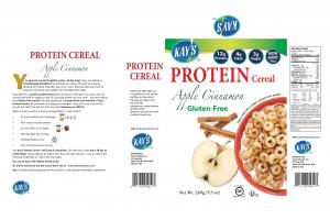 GLUTEN-FREE APPLE CINNAMON PROTEIN CEREAL
