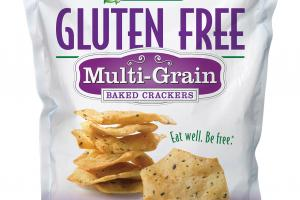 MULTI-GRAIN BAKED CRACKERS
