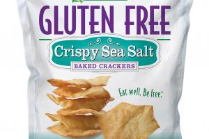 CRISPY SEA SALT BAKED CRACKERS