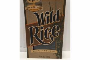 100% NATURAL WILD RICE