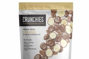 FREEZE-DRIED BANANAS IN MILK CHOCOLATE