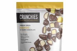 FREEZE-DRIED MANGO IN DARK CHOCOLATE