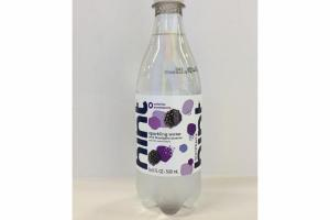 SPARKLING WATER WITH BLACKBERRY ESSENCE