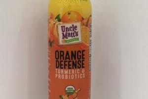 Orange Defense Turmeric & Probiotics Juice Beverage