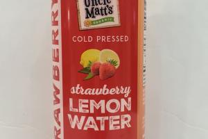 Cold Pressed Lemon Water