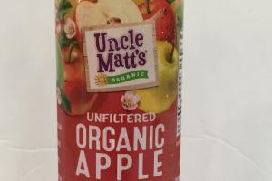 Unfiltered Organic Apple Juice