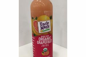 RUBY RED ORGANIC GRAPEFRUIT JUICE