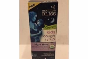 ORGANIC NIGHT TIME KIDS COUGH SYRUP LIQUID DIETARY SUPPLEMENT