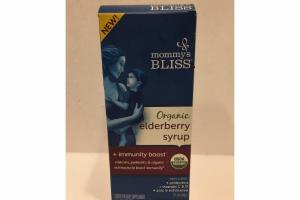 ORGANIC ELDERBERRY SYRUP LIQUID DIETARY SUPPLEMENT
