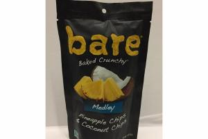 MEDLEY PINEAPPLE CHIPS & COCONUT CHIPS