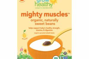 ORGANIC, NATURALLY SWEET BEANS BABY FOOD