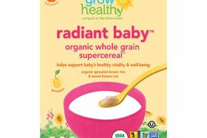 ORGANIC WHOLE GRAIN SUPERCEREAL